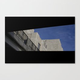 excuse me Canvas Print