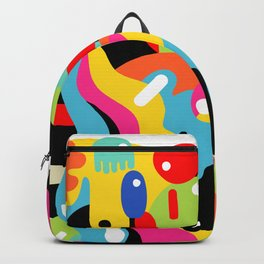 Color blobs Backpack