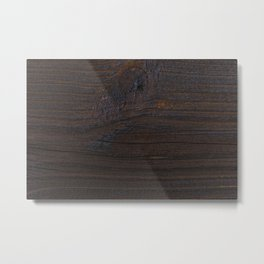 wood texture as background Metal Print