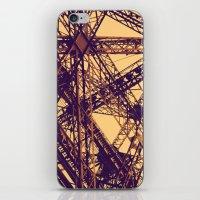 eiffel iPhone & iPod Skins featuring Eiffel by adrianperive