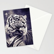 Sumartran Tiger in Two Tone Stationery Cards