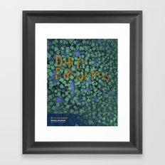 Dirty Projects at Bowery Ballroom Framed Art Print