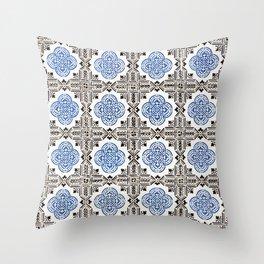 Portuguese Tiles 5 Throw Pillow