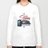 doctor who Long Sleeve T-shirts featuring Doctor Who  by thatfandomshop