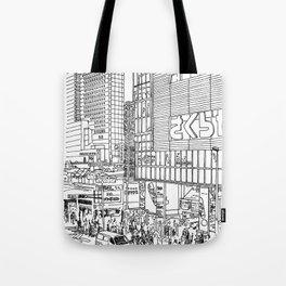Tokyo - Shinjyuku Tote Bag