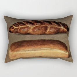 Vintage Bread Rectangular Pillow
