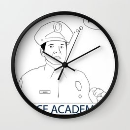 POLICE ACADEMY Wall Clock