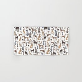 Greyhounds and Whippets Hand & Bath Towel