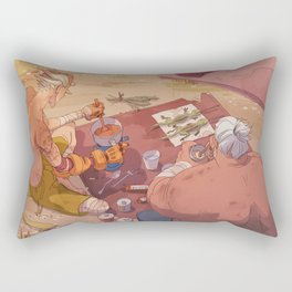 Dinner Time Rectangular Pillow