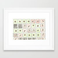 bugs Framed Art Prints featuring Bugs by Eli Dorman