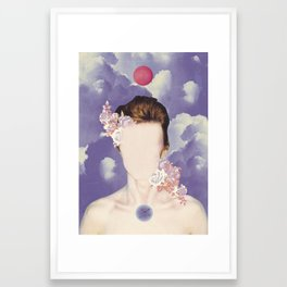 COSMIC PORTRAITS//05 Framed Art Print
