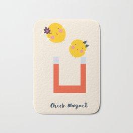 Chick Magnet Art Bath Mat