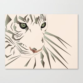Tiger's Tranquility Canvas Print