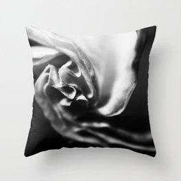 Unfurling Datura. Throw Pillow