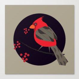 Cardinal Song Canvas Print
