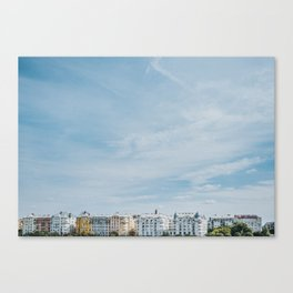 Budapest River Side Canvas Print