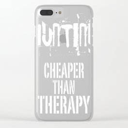Hunting Cheaper Clear iPhone Case