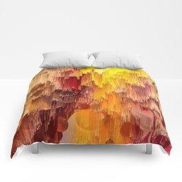 Sun Kissed Hidden Bubble Art Abstract Comforters