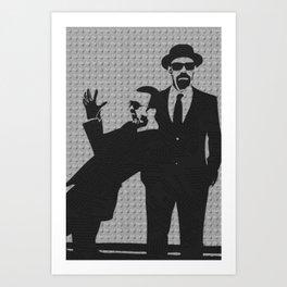 Goodbye Breaking Bad! Art Print