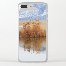 Still Waters Clear iPhone Case