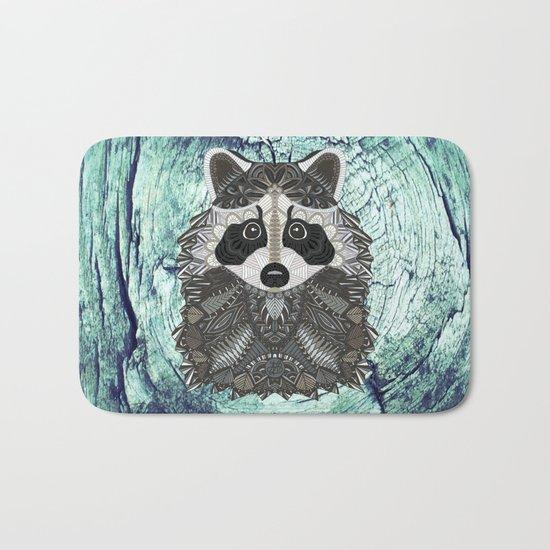 Ornate Raccoon Bath Mat