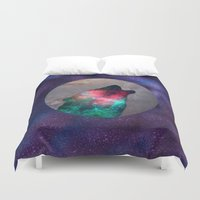 howl Duvet Covers featuring Howl by vivajcious