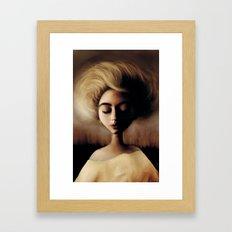 Sleepin' Framed Art Print