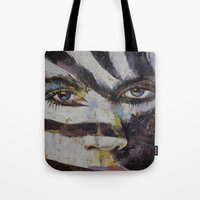 carnival Tote Bags featuring Carnival by Michael Creese