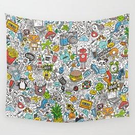 Comic Pop art Doodle Wandbehang