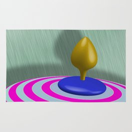 Spinning Top Rug