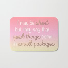 Small Packages Bath Mat