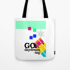 Gone Daydreamin'—art print/Metatron/sacred geometry/funnypretty Tote Bag