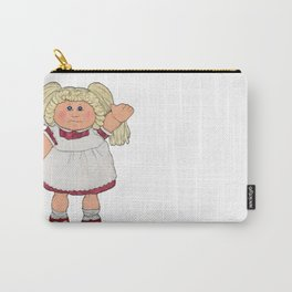 Cabbage Patch Doll on White Carry-All Pouch