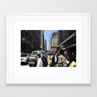 rush Framed Art Prints featuring Rush by Ali Inay