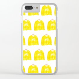 Girl Sweaters Clear iPhone Case