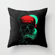 Treasure Hunting Throw Pillow