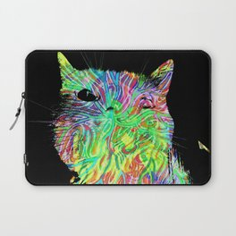 Psychedelic Cat Laptop Sleeve