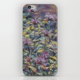 Abstract Thistle iPhone Skin