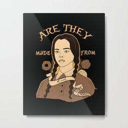 Wednesday Addams - Girl Scouts Metal Print