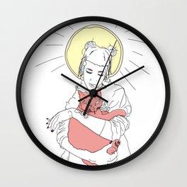 Saint Wall Clock