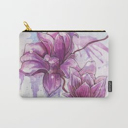 Magnolia Iiliiflora Carry-All Pouch