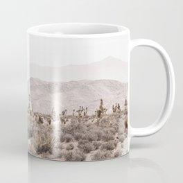 Sierra Nevada Mojave // Desert Landscape Blush Cactus Mountain Range Las Vegas Photography Coffee Mug