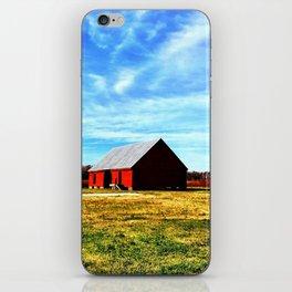 The Red Barn iPhone Skin