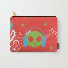 Music Skull Carry-All Pouch