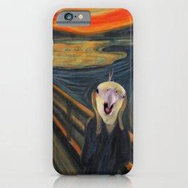 The Screm - cockatiel Munch iPhone Case