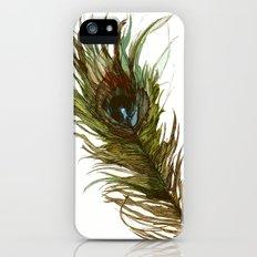 Peacock iPhone (5, 5s) Slim Case