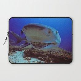 Snooty Shark Portrait Laptop Sleeve