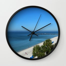 A Beautiful December Morning Wall Clock