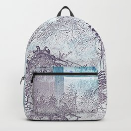 Inside Out When Outside or In Backpack