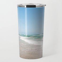 Outer Banks / Teal Waves - Corolla, North Carolina - Photography  Travel Mug
